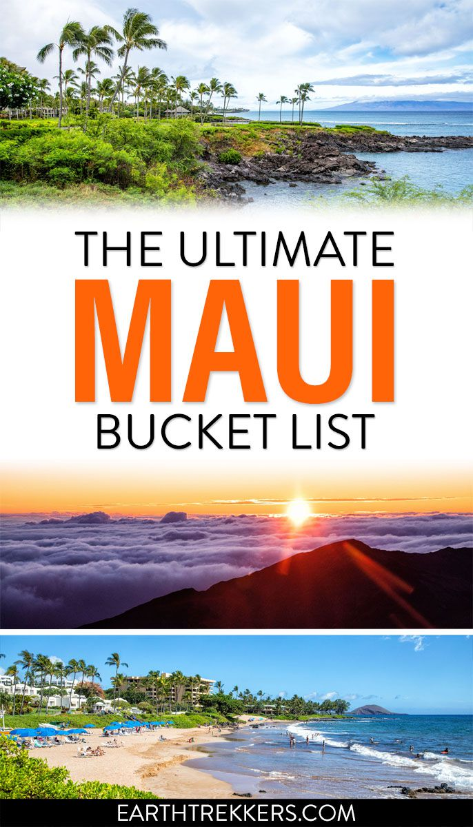 Maui Hawaii Best Things To Do