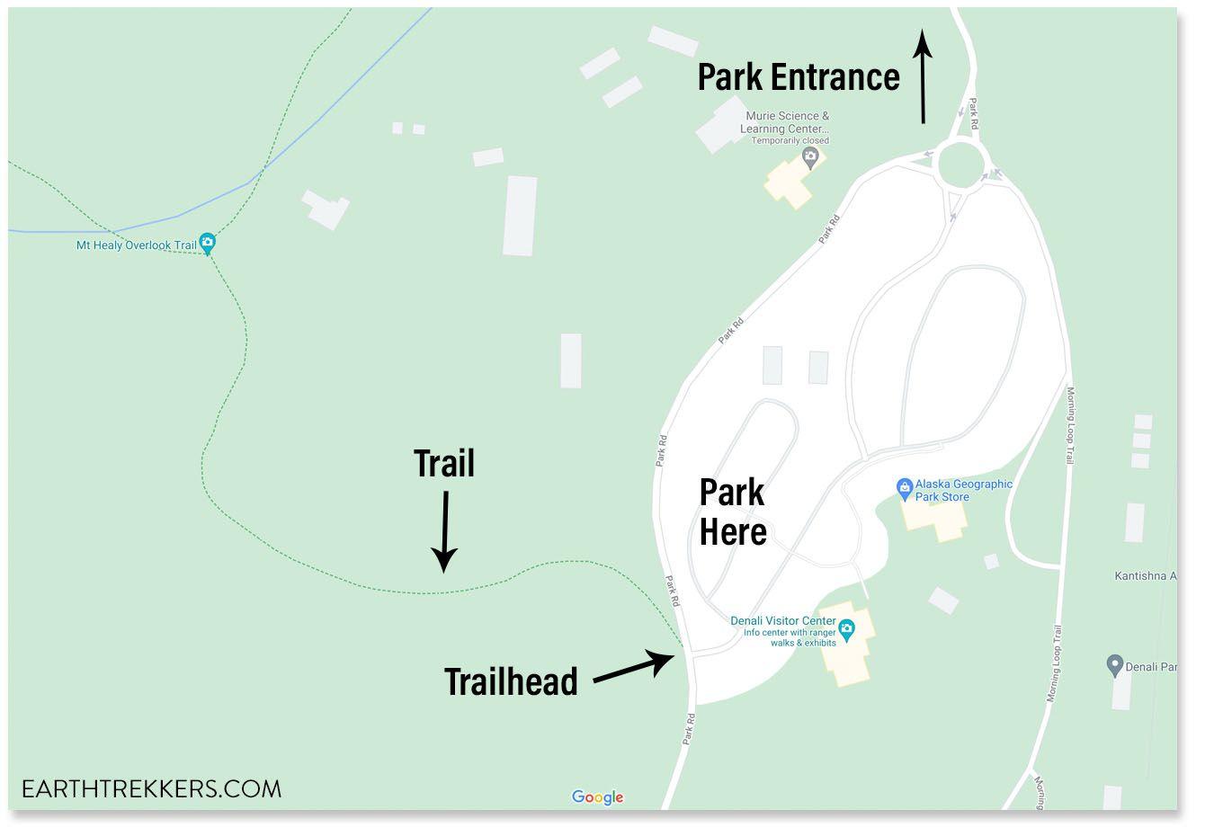 Mount Healy Trailhead
