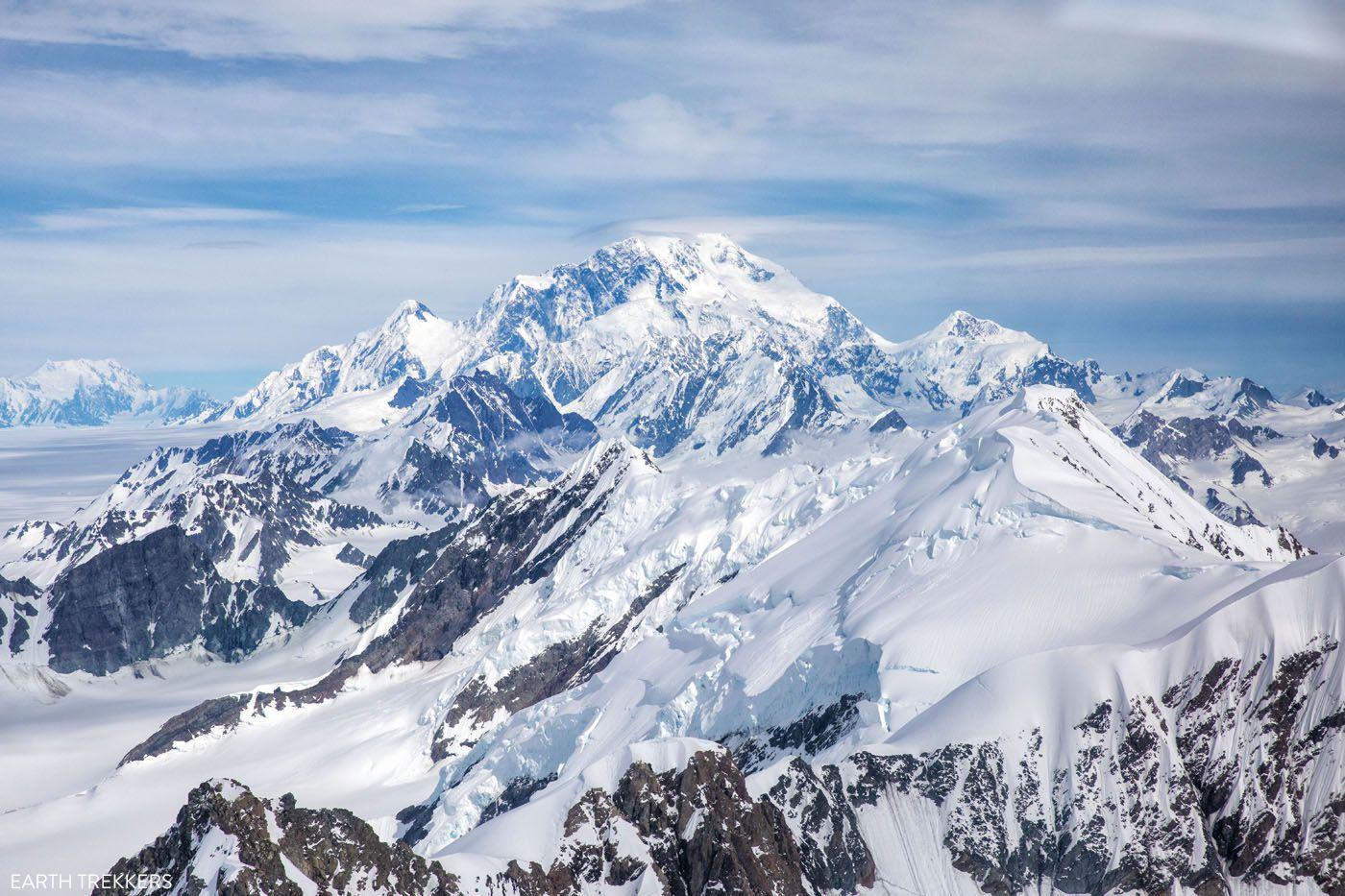 Mount St Elias Flightseeing