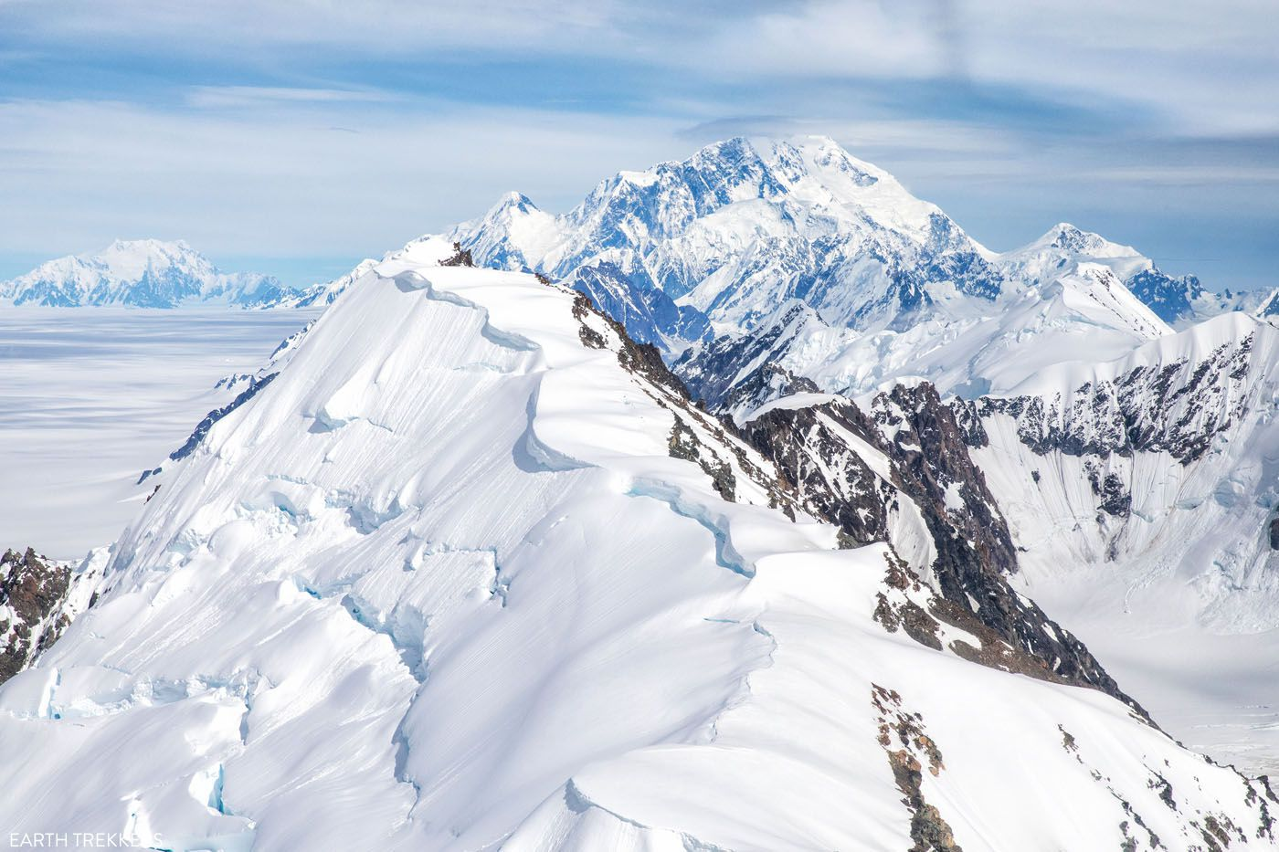 Mount St Elias in June