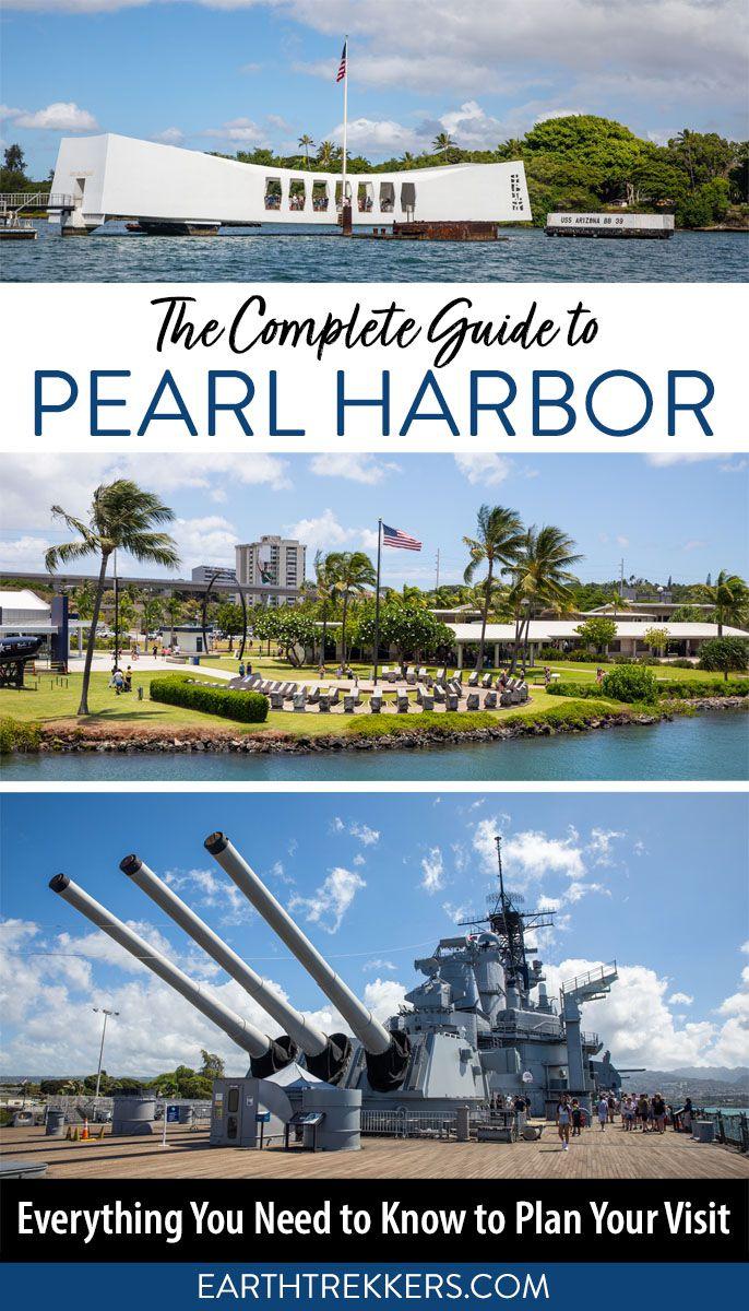 Pearl Harbor Oahu Hawaii Travel Guide