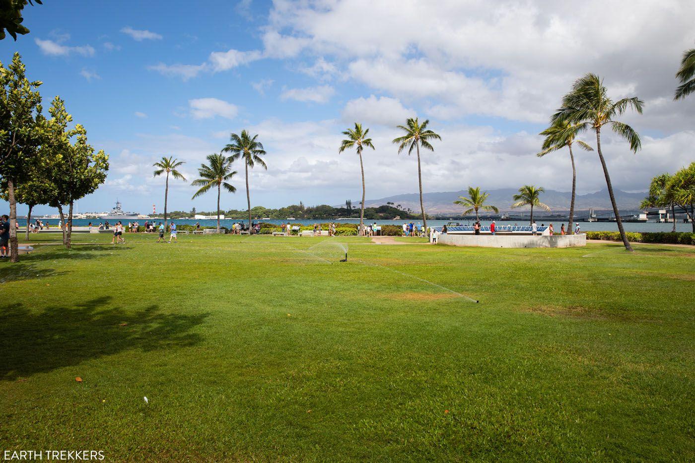 Pearl Harbor Outdoor Exhibits