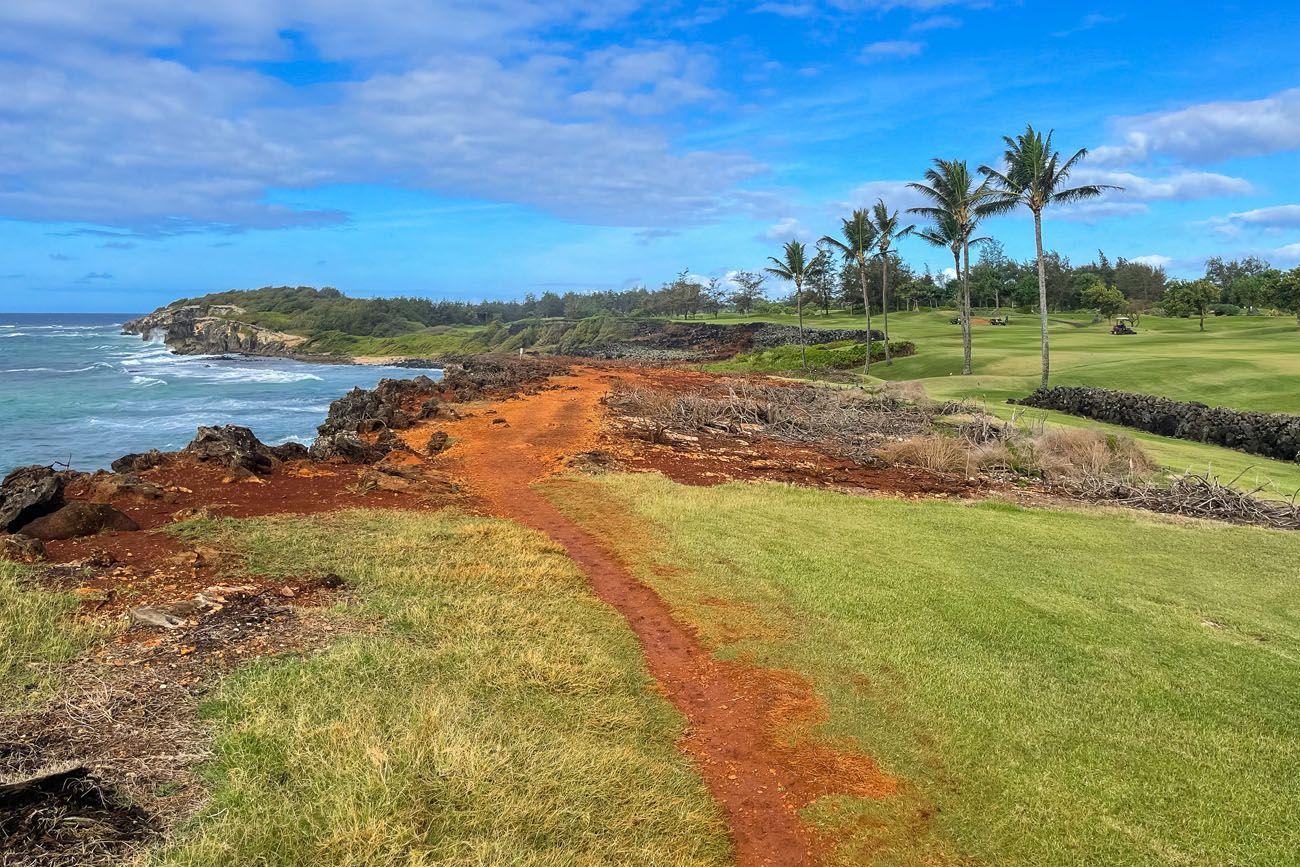 Poipu Golf Course Trail