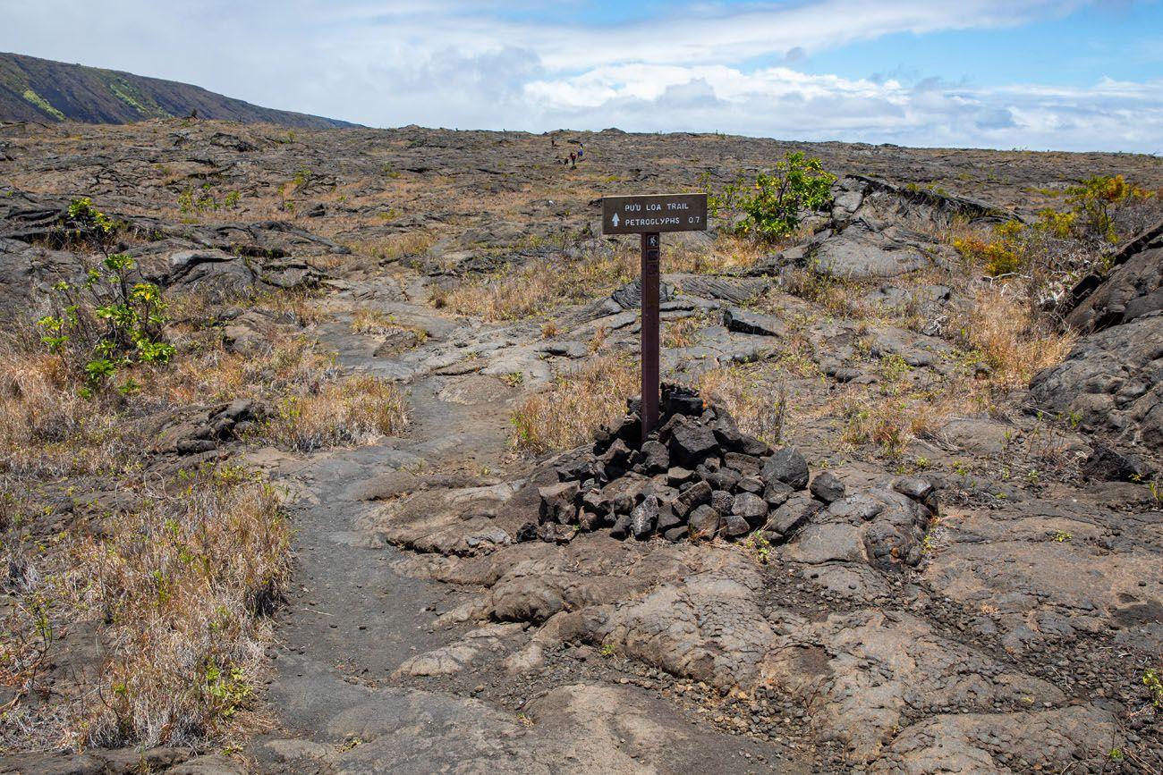 Puuoloa Petroglyph Hike things to do in Hawai'i Volcanoes National Park