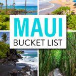 Things to do in Maui Hawaii Bucket List