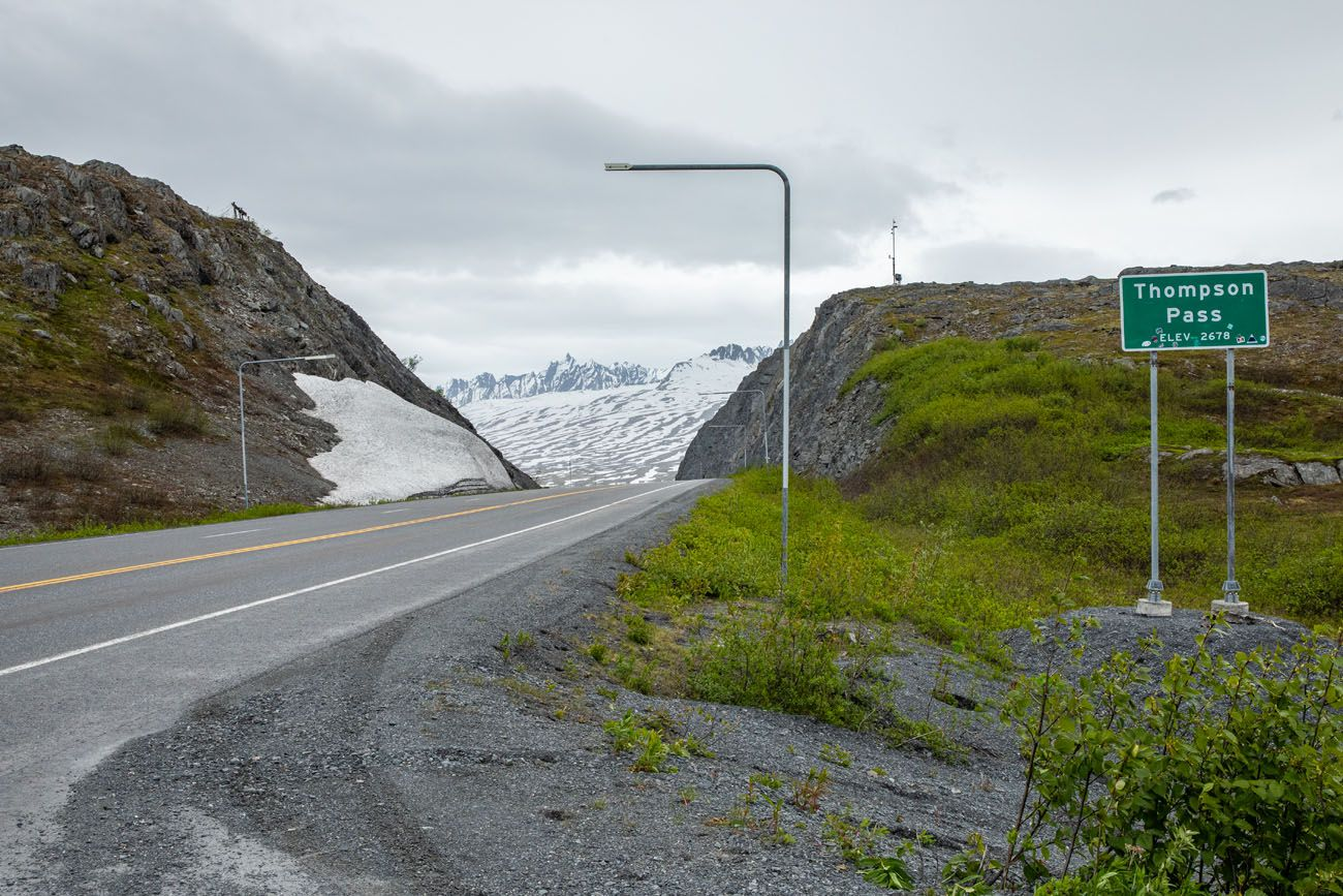 Thompson Pass Anchorage to Valdez