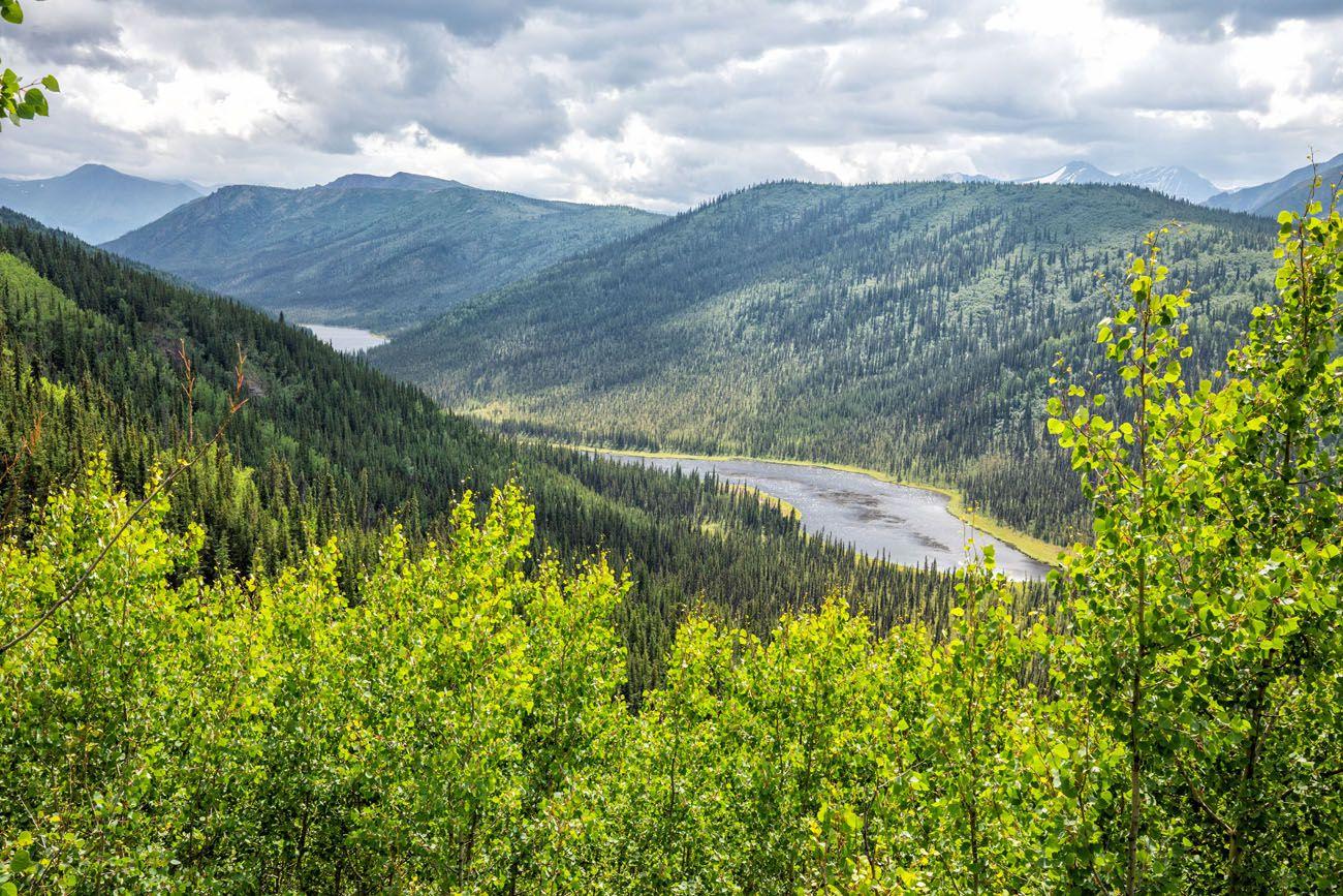 Triple Lakes Trail View