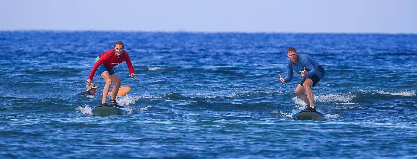 Tyler Tim Surfing
