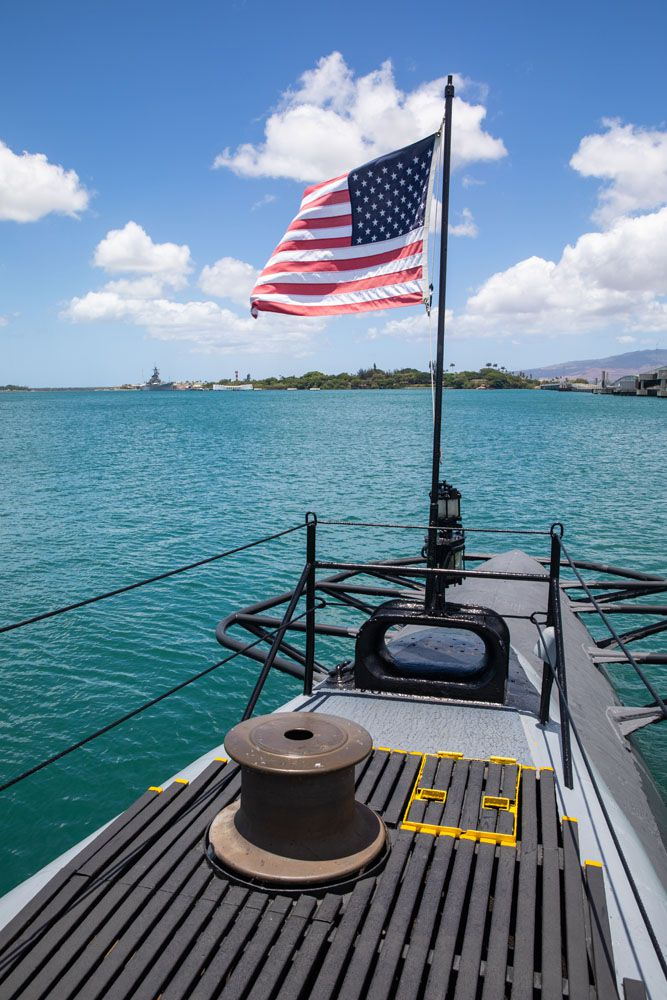 USS Bowfin View