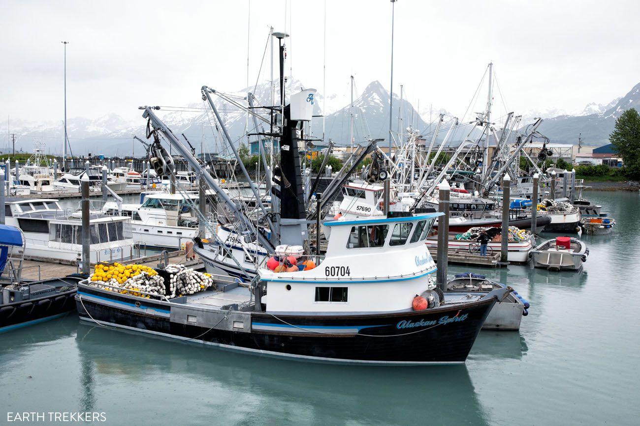 Valdez Harbor Anchorage to Valdez