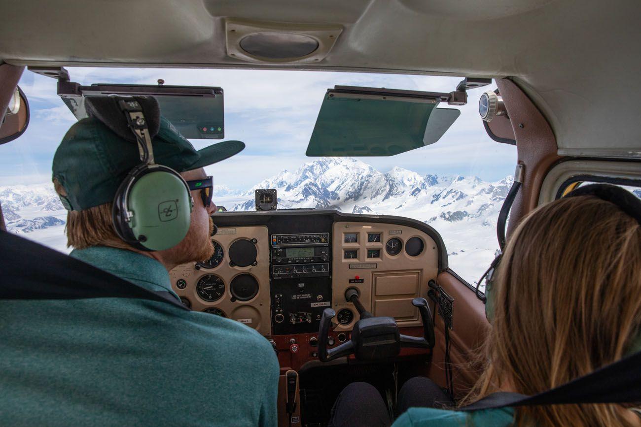 Wrangell Air Cockpit
