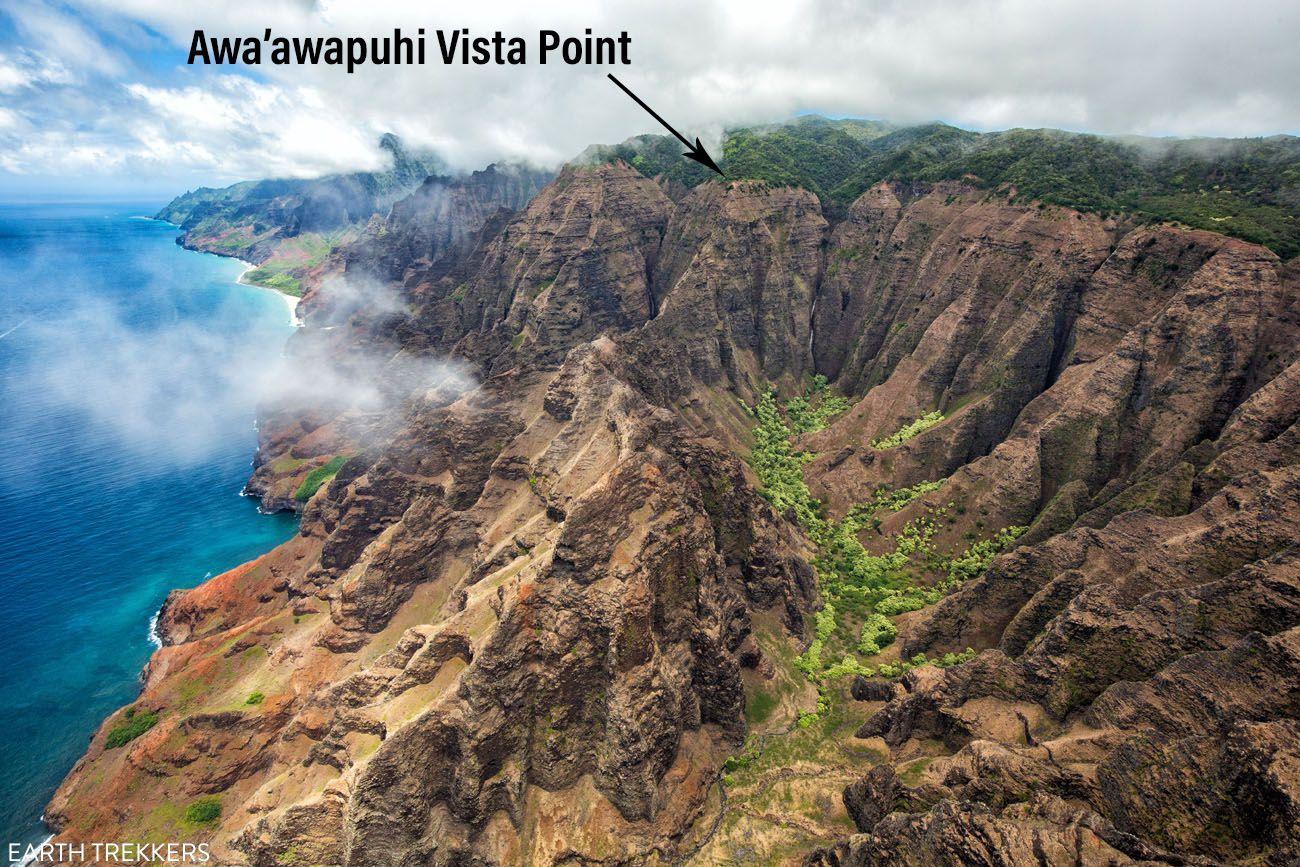 Awaawapuhi Vista Point