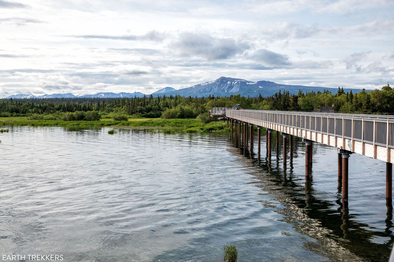 Brooks Camp Boardwalk best things to do in Katmai National Park