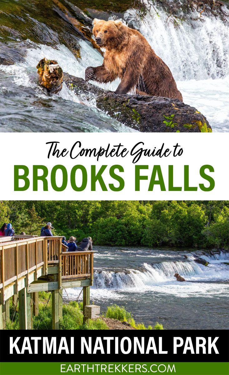 Brooks Falls Katmai National Park Alaska