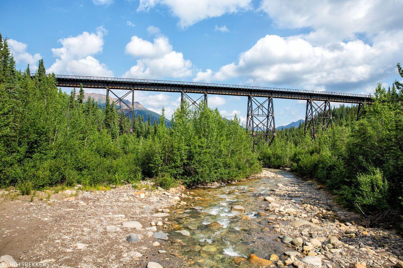 Denali Railroad Trestle