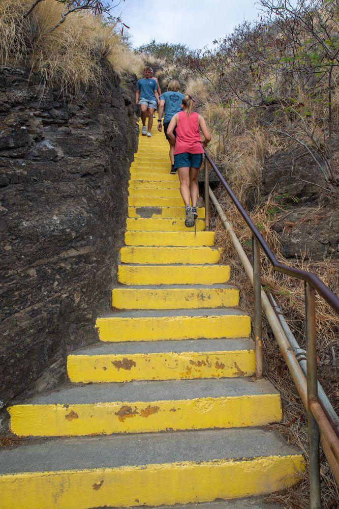 Diamond Head Stairs