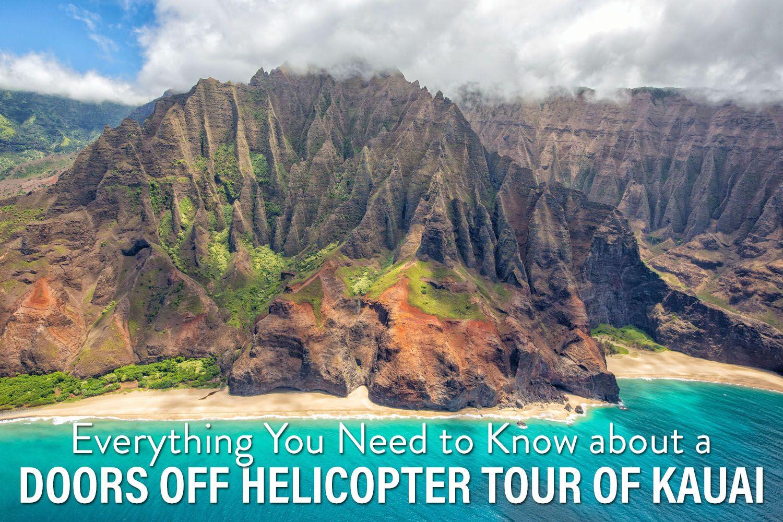 Doors Off Helicopter Kauai
