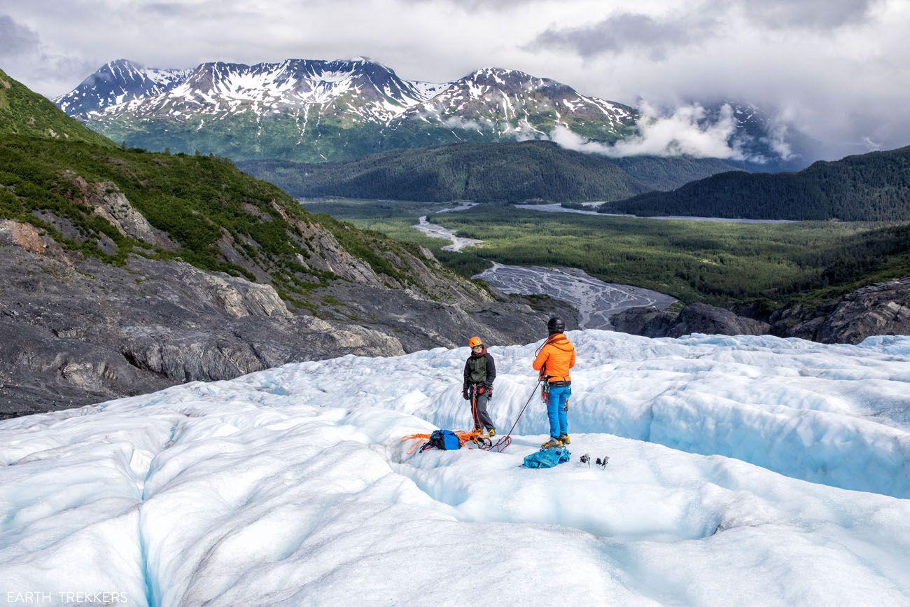 Exit Glacier Ice Climbing