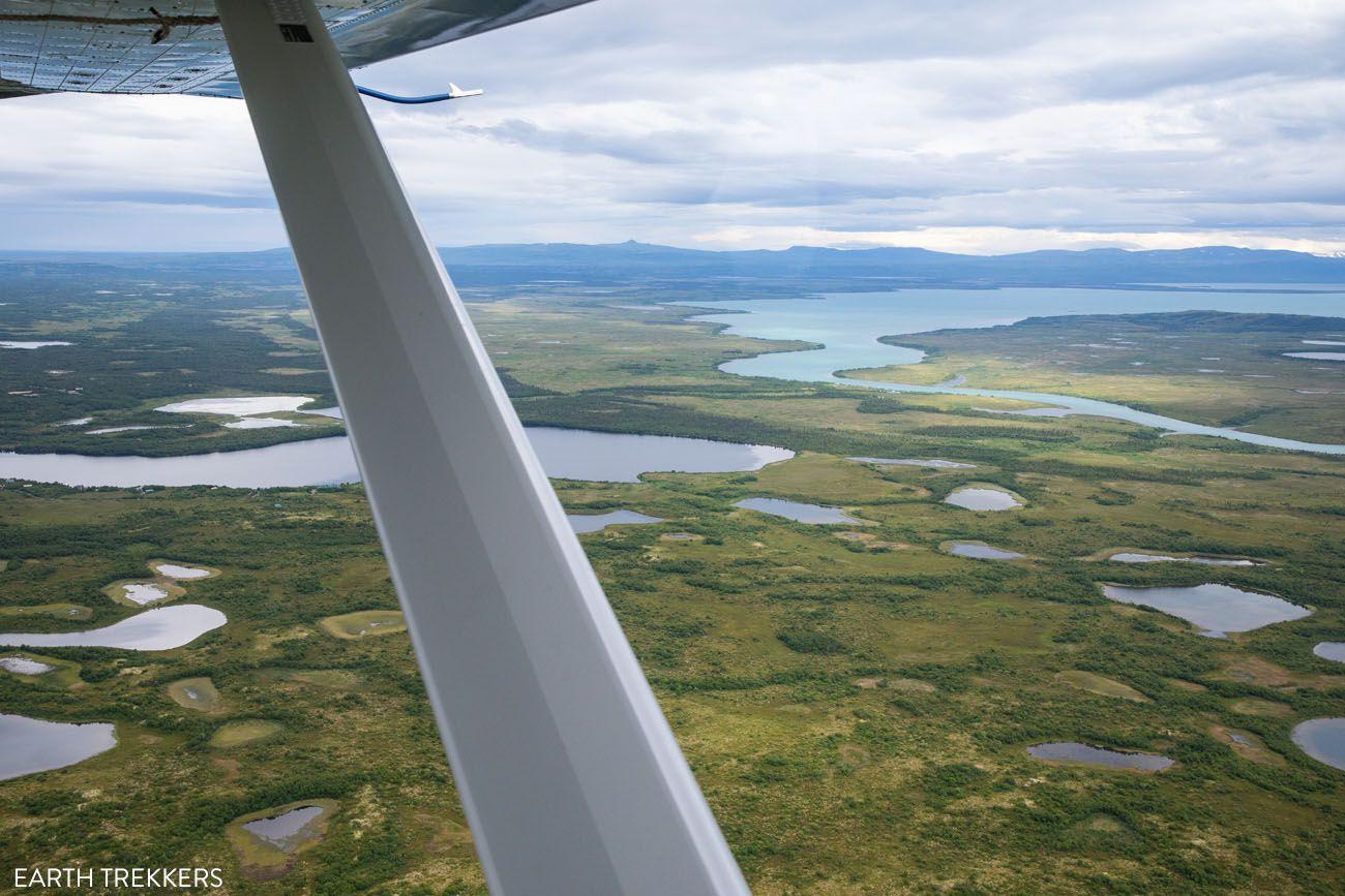 Flightseeing Katmai best things to do in Katmai National Park