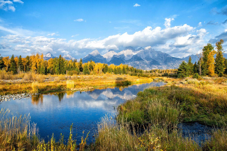 Grand Teton NP in September