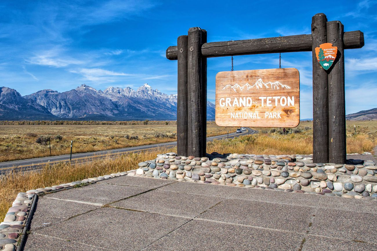 Grand Teton Sign