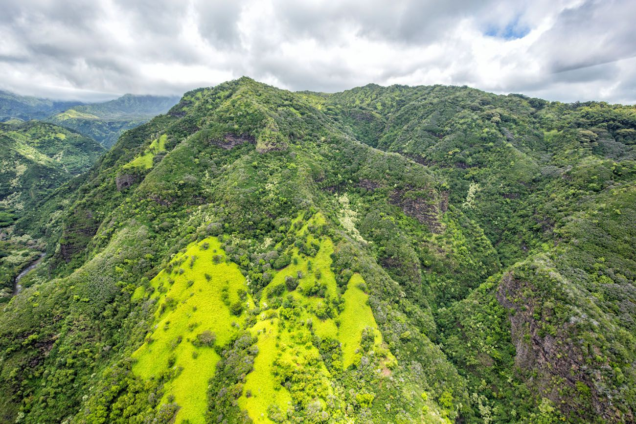 Green Mountains Kauai Helicopter