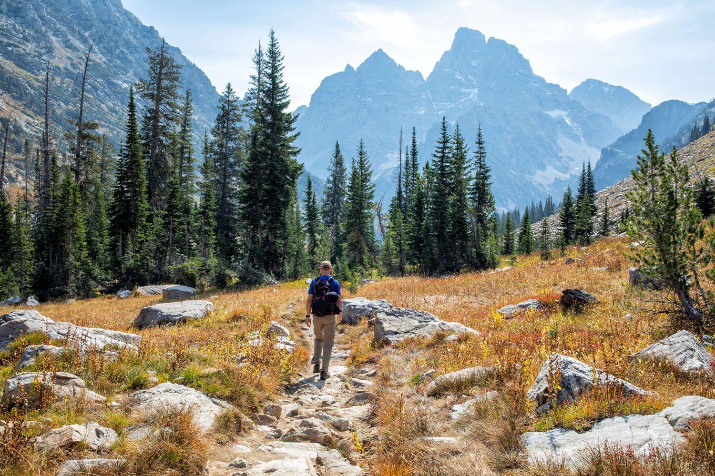 Hiking Grand Teton NP