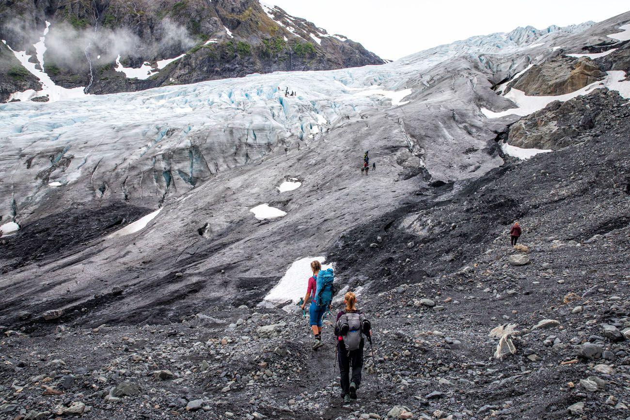 Hiking to Exit Glacier