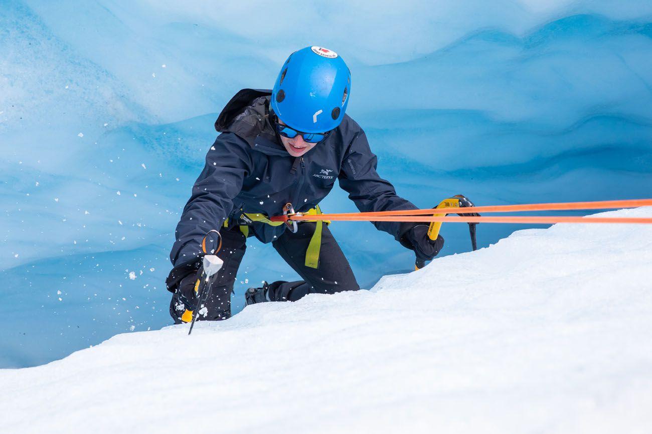 Ice Climbing Lesson