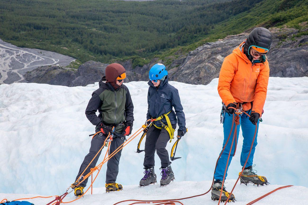 Kara Ice Climbing