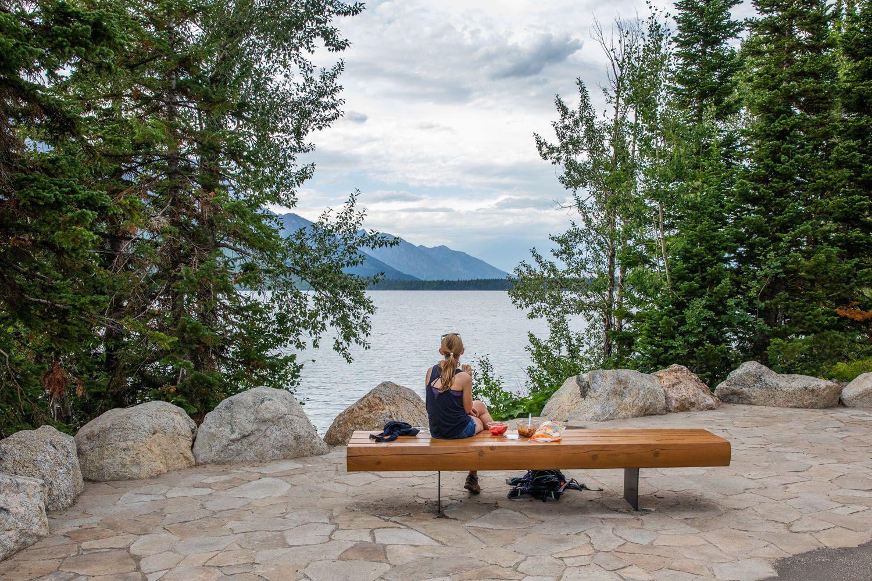 Kara at Jenny Lake