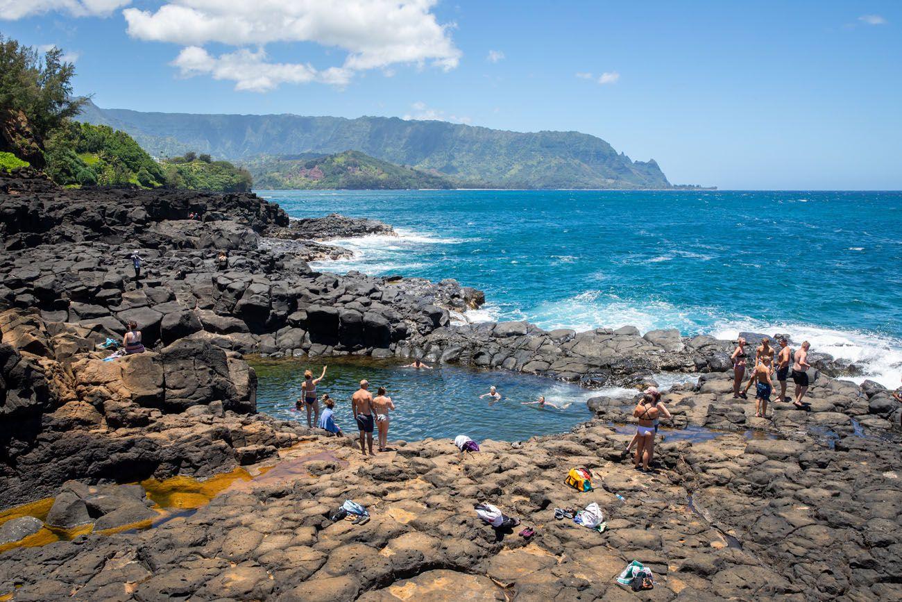 Queens Bath best things to do in Kauai