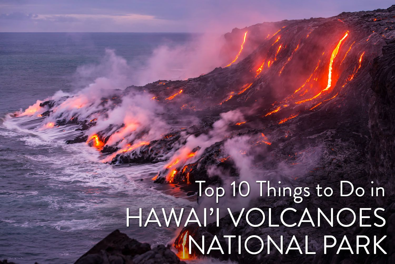 Things to do Hawaii Volcanoes