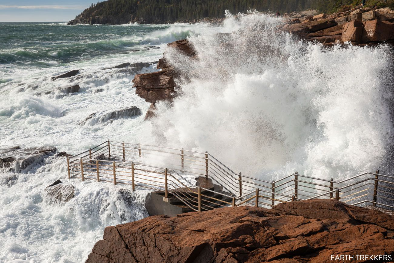 Thunder Hole Acadia Itinerary