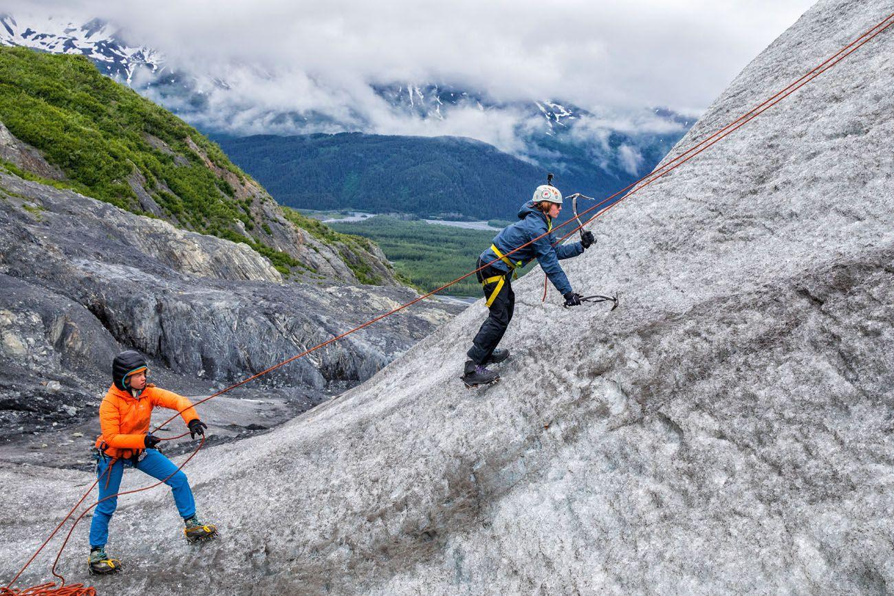 Tyler Ice Climbing