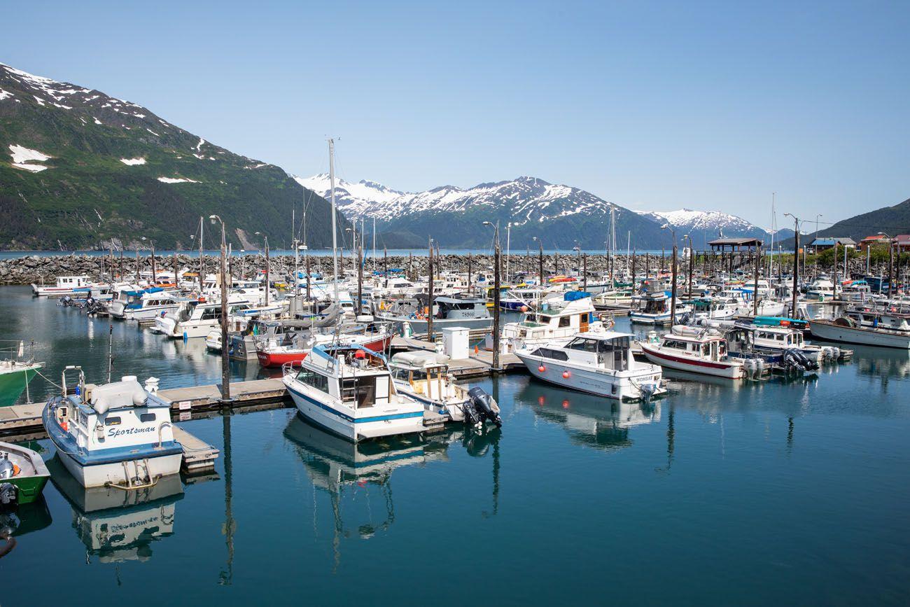 Whittier Alaska Seward Highway