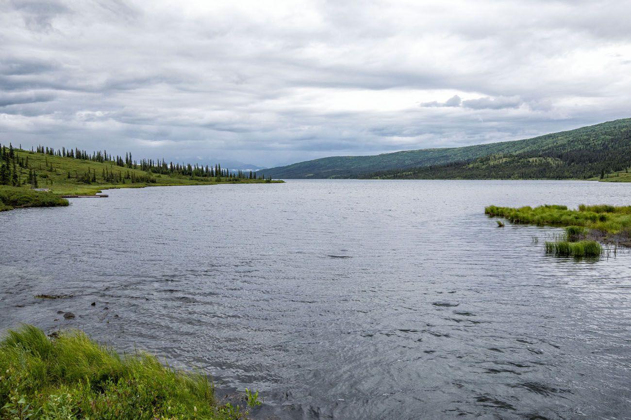 Wonder Lake Cloudy