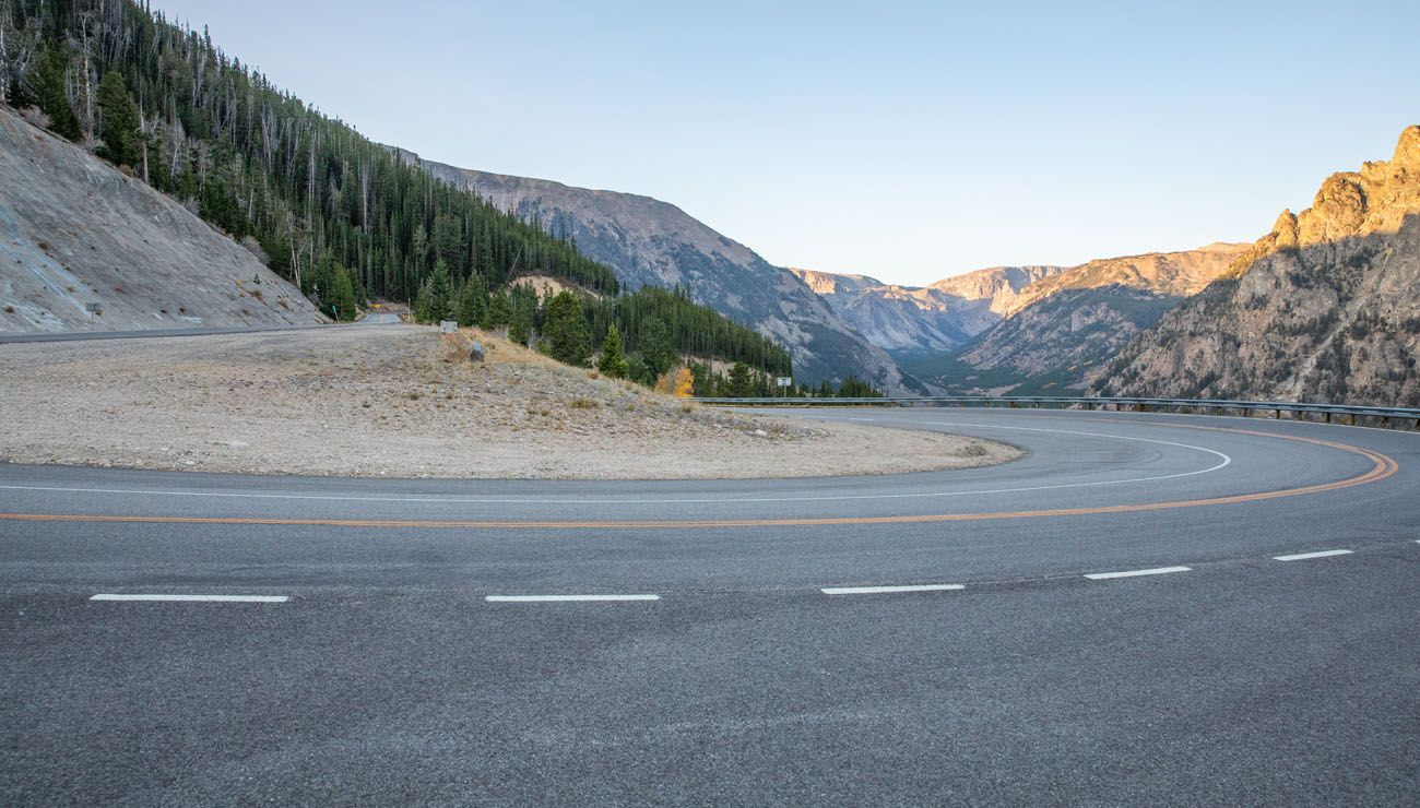 Beartooth Highway Switchback