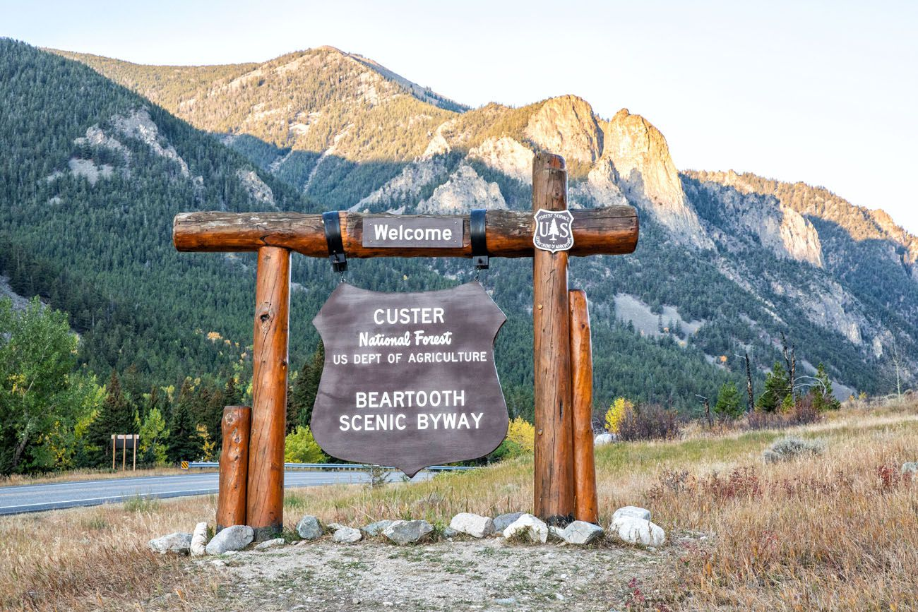 Beartooth Scenic Byway