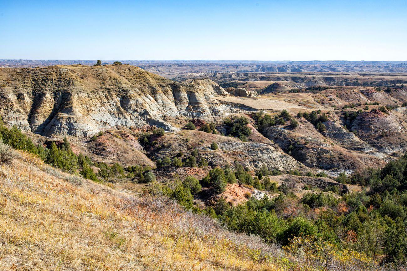 Big Plateau Theodore Roosevelt NP