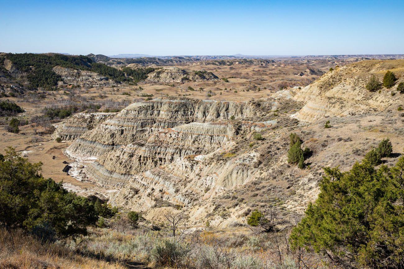 Boicourt Overlook South Unit of Theodore Roosevelt