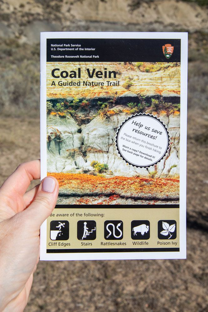 Coal Vein Guide South Unit of Theodore Roosevelt