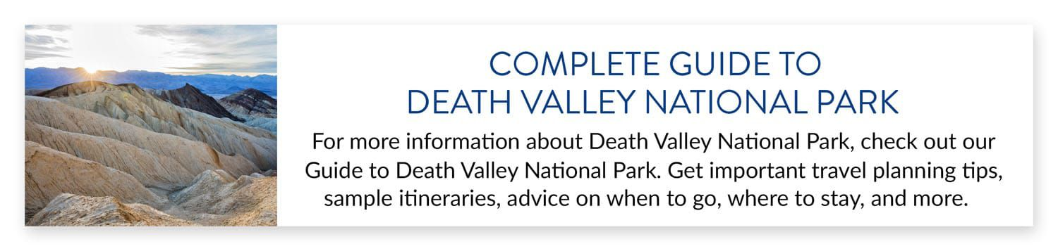 Death Valley Travel Guide