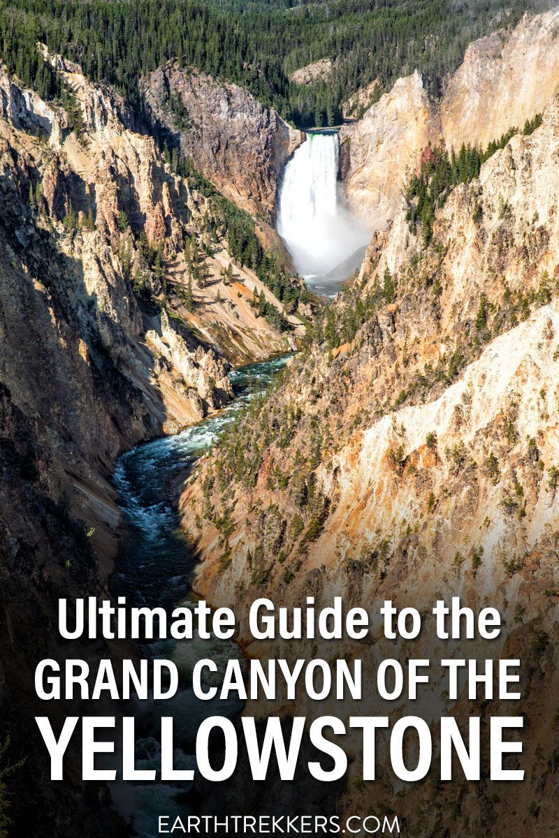 Grand Canyon of the Yellowstone Guide
