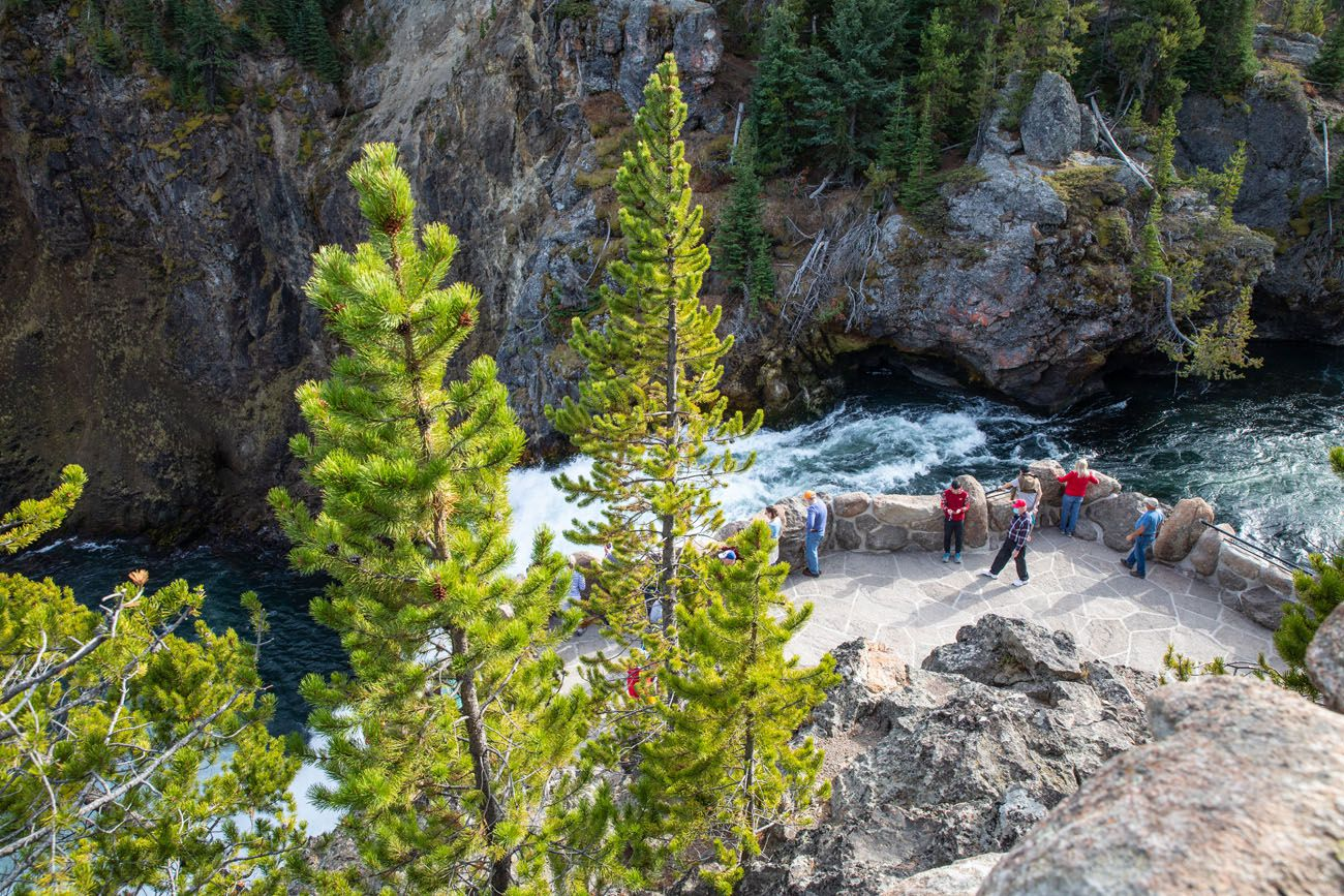 Middle Overlook Upper Falls