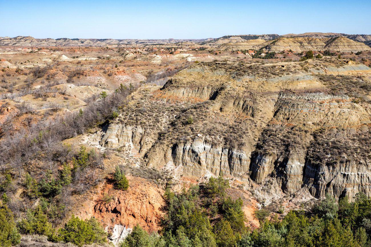 North Dakota Badlands Overlook
