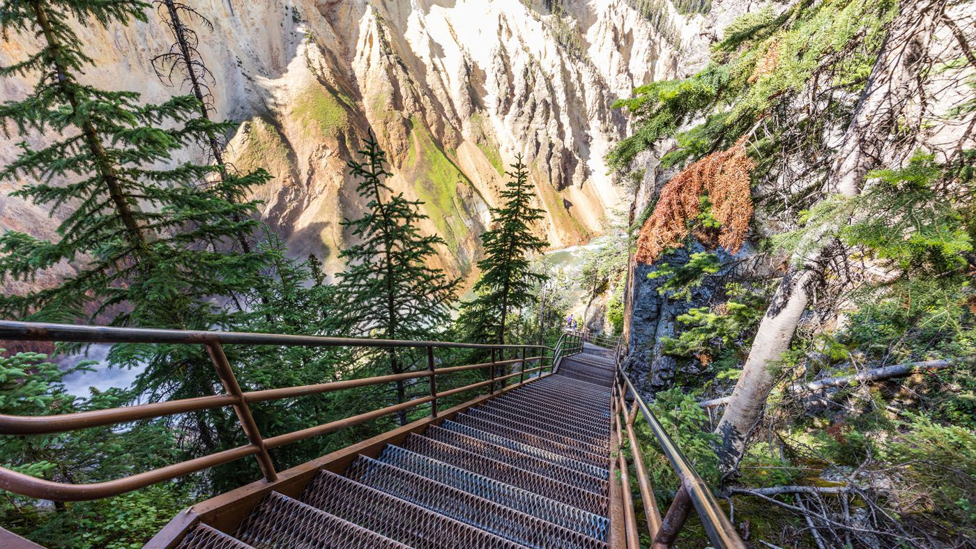 Uncle Toms Steps Grand Canyon of the Yellowstone
