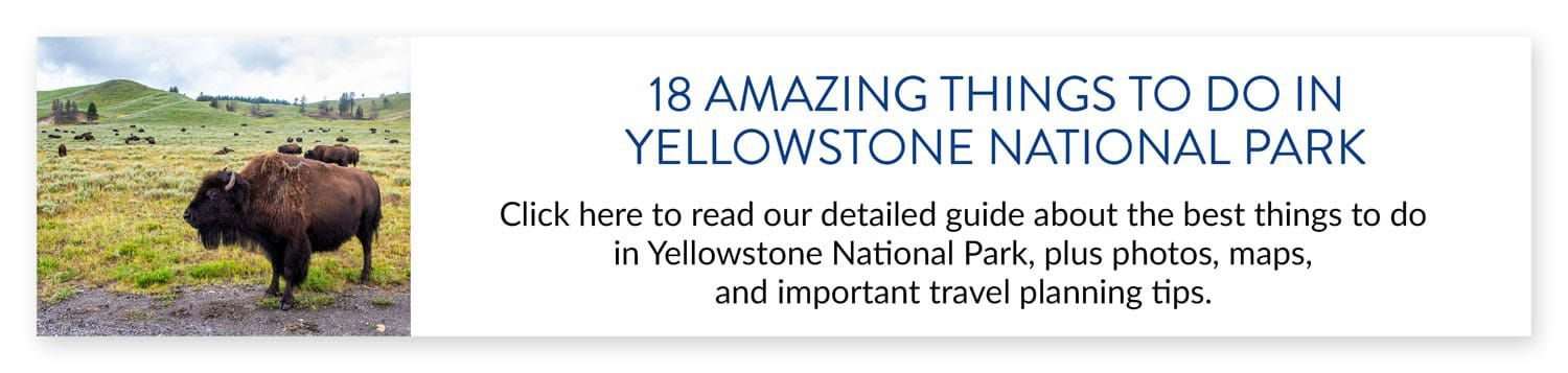 Things to Do in Yellowstone